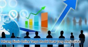 Peluang Bisnis Online Tanpa Modal Besar yang Menjanjikan