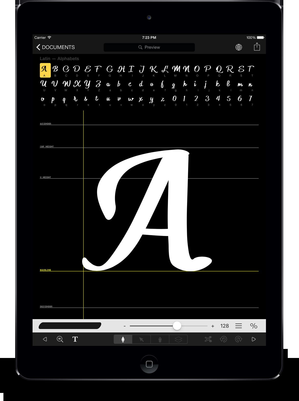 Font Pro app