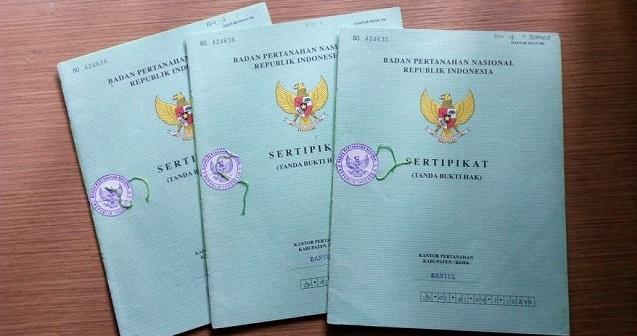 sertifikat tanah ganda