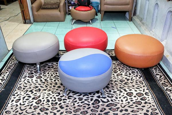 Furniture dari ban bekas