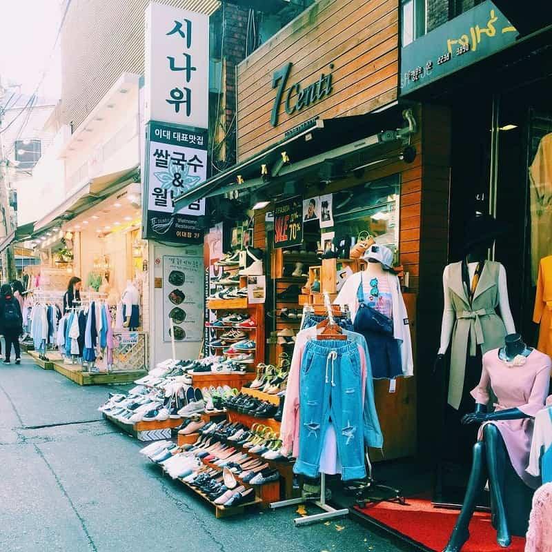 Belanja di korea