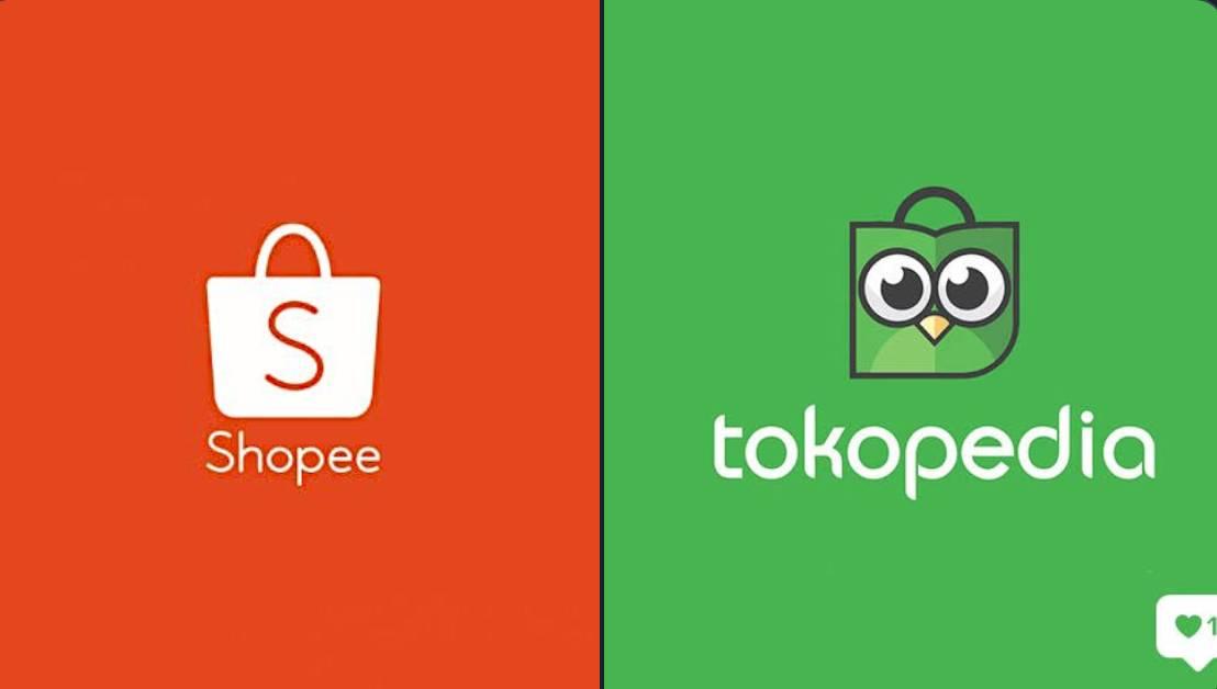 Tokopedia atau Shopee